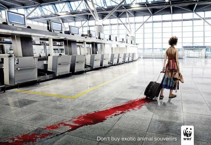 wwf blood Against Animal Cruelty