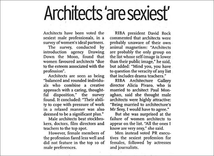 Architects are Sexy
