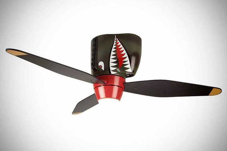 Tiger Shark Ceiling Fan for Kids
