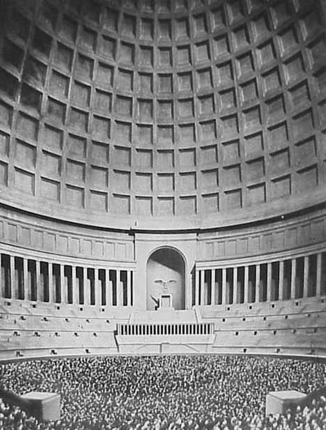 Albert Speers Volkshalle Illusion