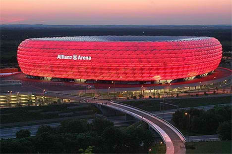 Allianz Arena in Bayern, Germany