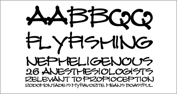 Wayne Thompson fonts architecture graphite