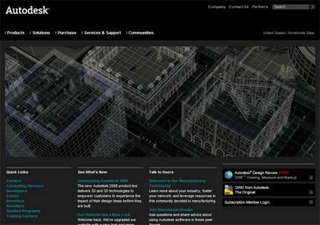 Black is the new Blue autocad autodesk website
