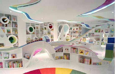 Chinese kids Bookstore in Beijing