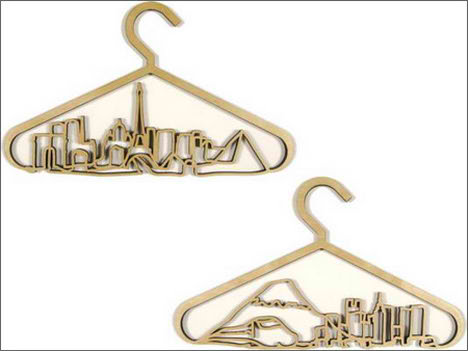 CityScape Coat Hangers