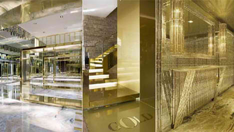 Dolce & Gabbana Gold Restaurant