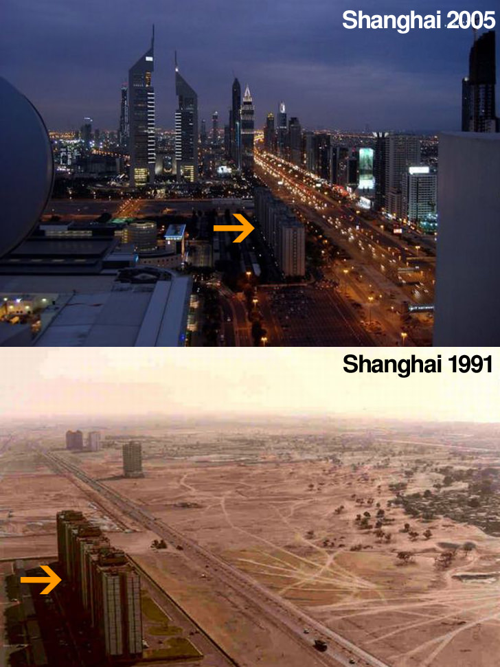 Dubai Now and Then