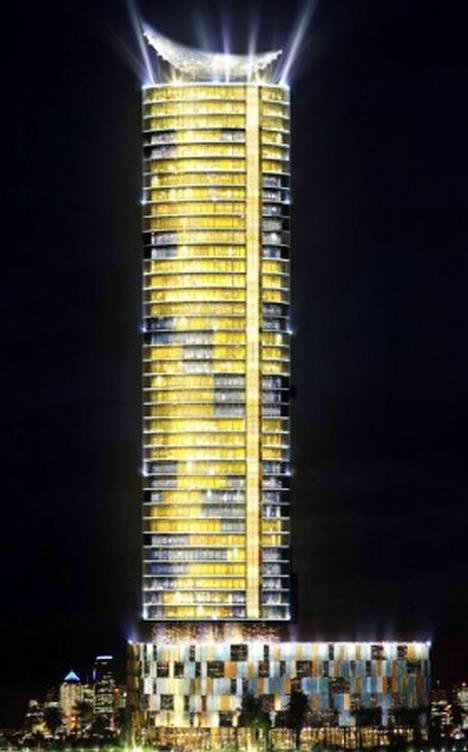 Dubai Time Residence Rotating Tower