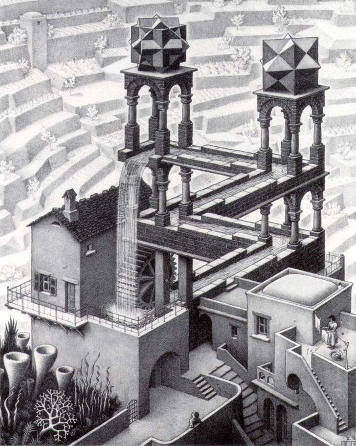 http://blog.miragestudio7.com/wp-content/uploads/2007/07/escher_waterfall_optical_illusion.jpg