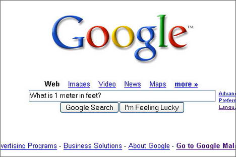Google+conversion+meters+to+feet