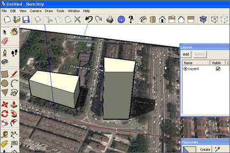 google earth sketchup