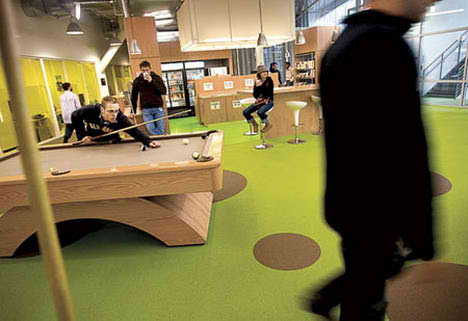 Googleplex by Clive Wilkinson Architects