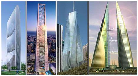 Top Ten Green Skyscrapers