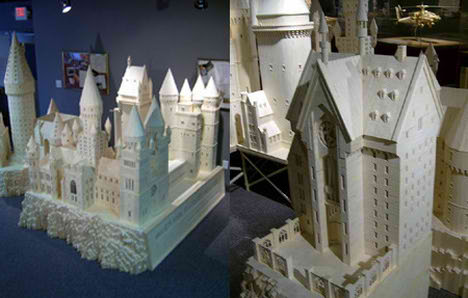 Matchstick Marvels - Hogwarts School of Witchcraft and Wizardry