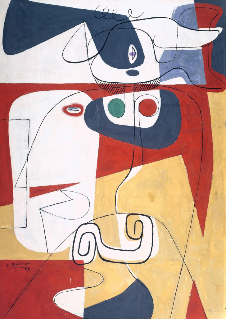 Le Corbusier Paintings