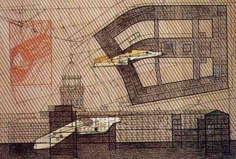 Lebbeus Woods - Experimental Architecture