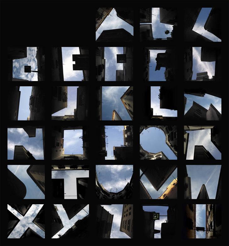 Type the Sky fonts by Lisa Rienermann