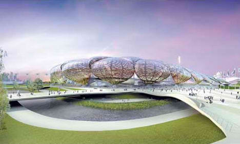 London Olympic 2012 zaha hadid