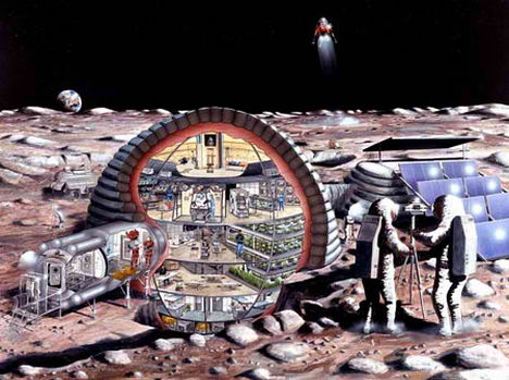 moon base china america concept design