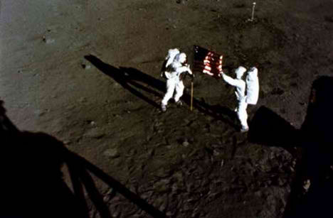 moon landing fake hoax american lied china first
