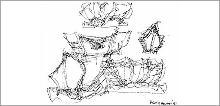 frank gehry disney sketches