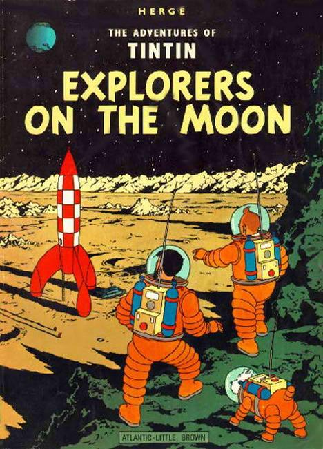 Moon Landing,  Tin Tin Moon Landing