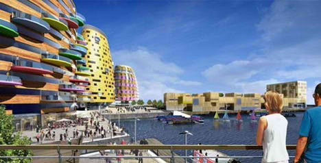 Will Alsop Architect Middlehaven Project
