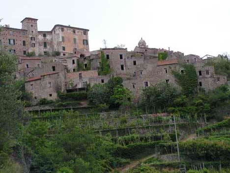 An Abandoned Village in Italy