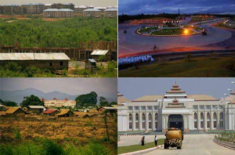 Naypyidaw burma new capital