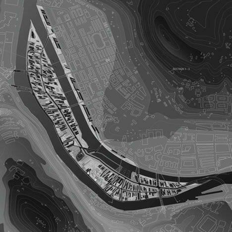 Zaha Hadid's Island, Radical Plan for Bilbao