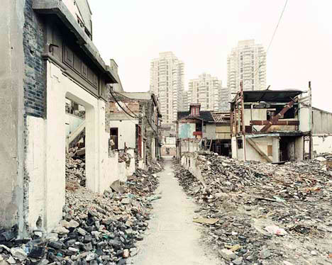 China A Country Without Memory destroy vernacular architecture city