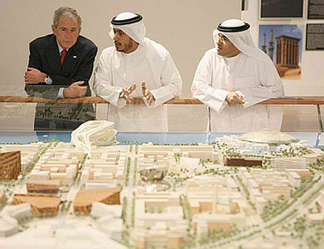 Bush Previews Abu Dhabi's Planned Carbon Neutral