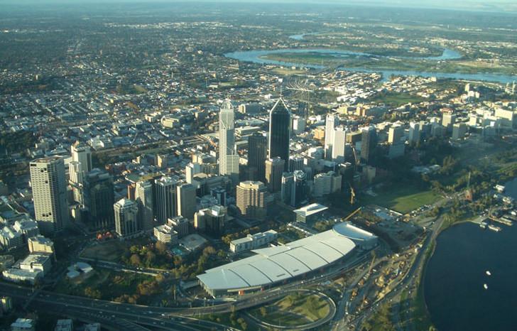 Perth City Convention Center CBD