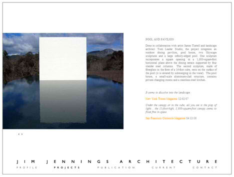 Jim Jennings Architect projects works publication