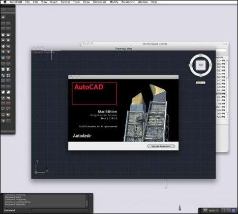 AutoDesk AutoCAD For Mac OS X