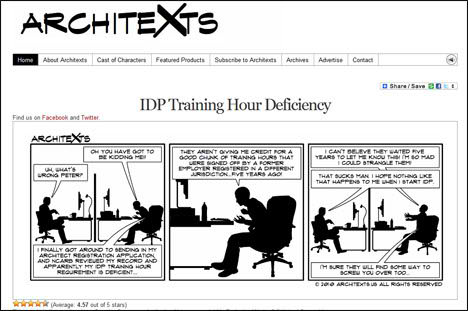 Architexts - Comic For Architectural Professionals