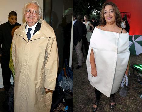 Richard Meier And Zaha Hadid