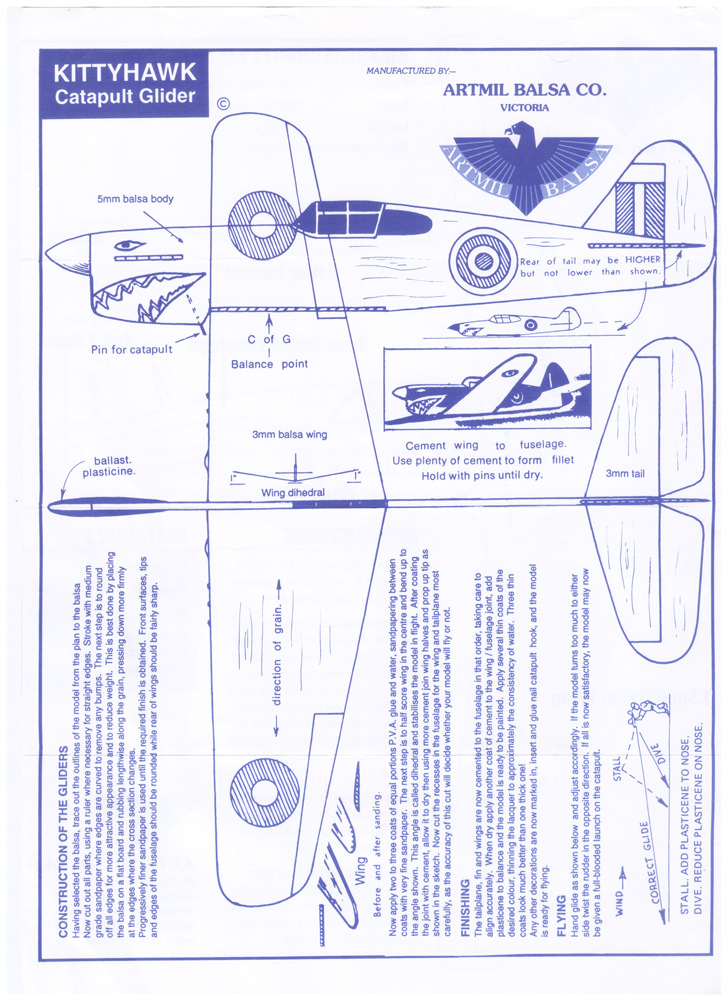 Balsa Airplanes