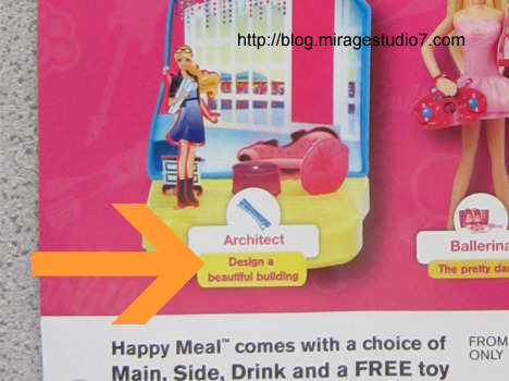 Barbie's Dream Job Is To Be An Architect