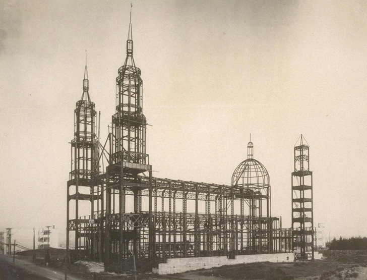 church under construction