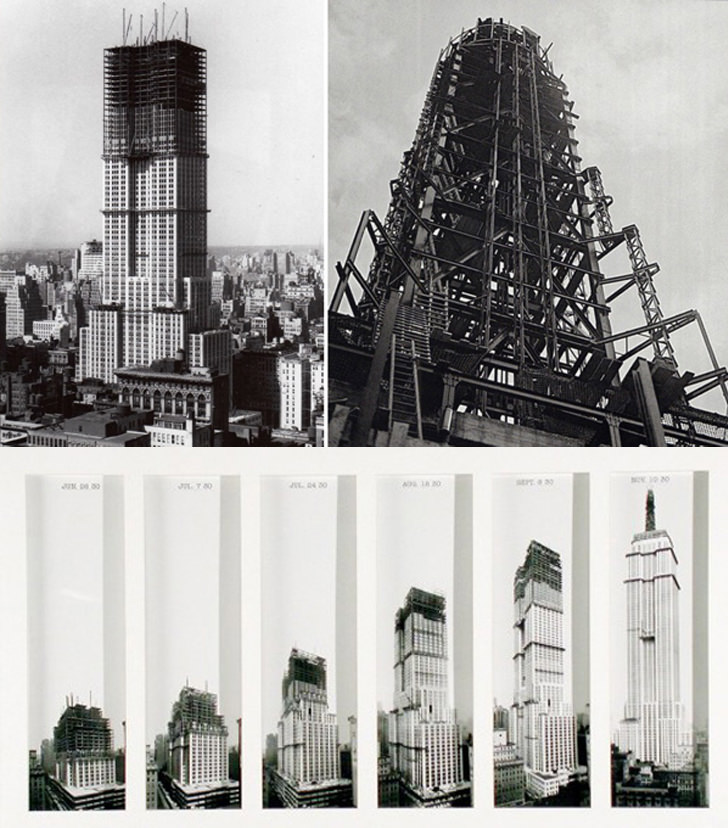 empire state building new york construction