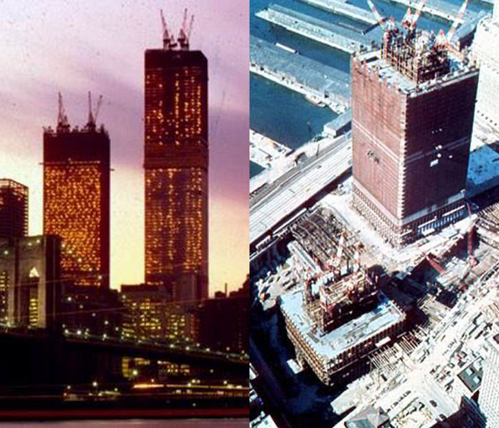 world trade center construction 911 before