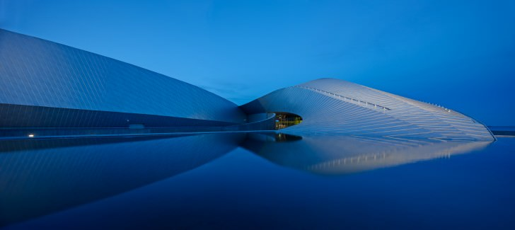 Denmark's new National Aquarium aka The Blue Planet by 3XN