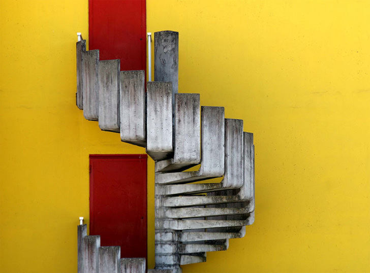 france creative stairs corbusier