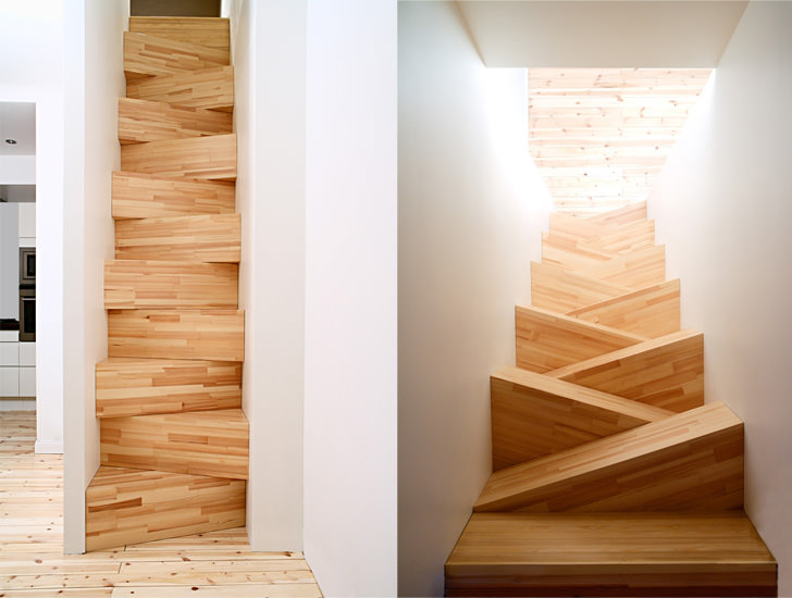 wood timber oak stairs architecture