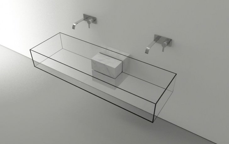 Kub 'Minimalist' Basin by Victor Vasilev Architect