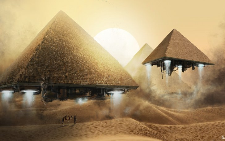 Ancient Aliens on Ancient Architecture pyramids giza