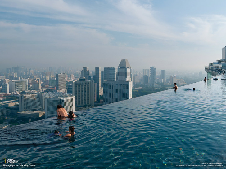marina bay sands infinity swimming pool negative edge zero edge infinity pool disappearing edge vanishing edge pool