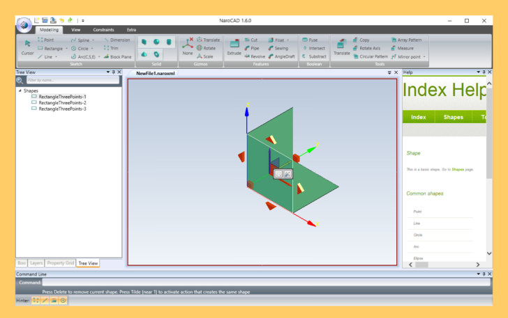 3 Free AutoDesk's AutoCAD Alternatives For Windows, macOS And Linux