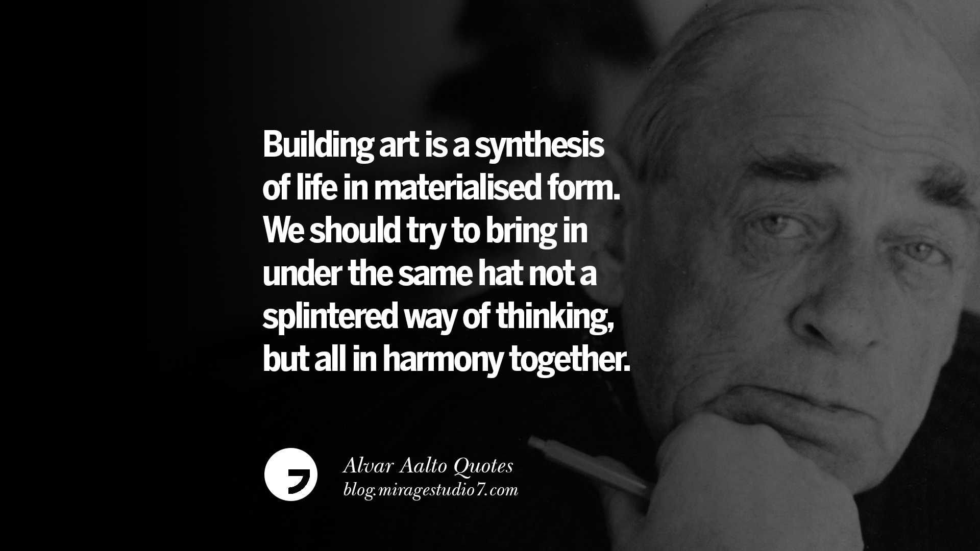 12 Alvar Aalto Quotes On Modern Architecture Form City And Culture